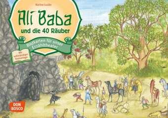 Ali Baba und die 40 Räuber, Kamishibai Bildkartenset
