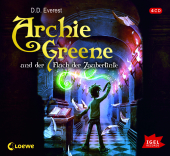Archie Greene und der Fluch der Zaubertinte, Audio-CD Cover