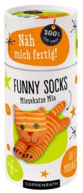 Näh mich fertig! Funny Socks - Miezekatze Mia Cover
