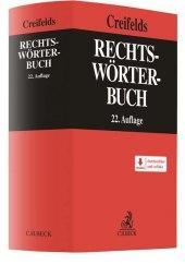 Rechtswörterbuch Cover