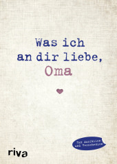 Was ich an dir liebe, Oma Cover