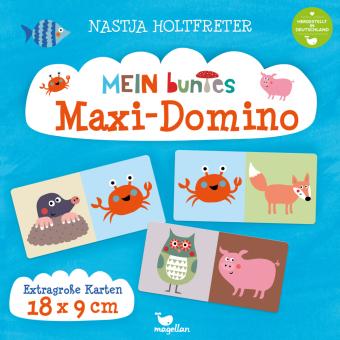 Mein buntes Maxi-Domino (Kinderspiel)