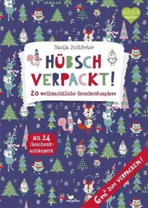 Hübsch verpackt! 20 weihnachtliche Geschenkpapiere