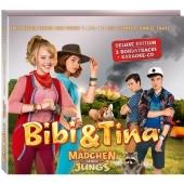 Bibi & Tina - Mädchen gegen Jungs, DVD (Deluxe-Edition mit Turnbeutel) Cover