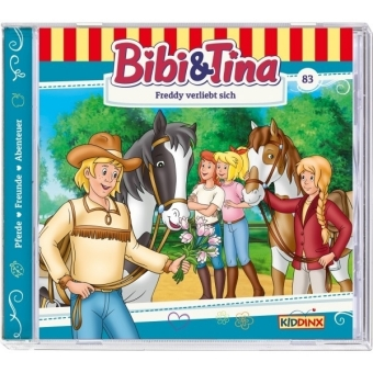 Bibi & Tina - Freddy verliebt sich, Audio-CD