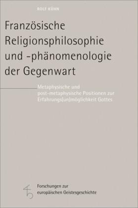 Französische Religionsphilosophie und -phänomenologie der Gegenwart