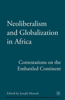 Neoliberalism and Globalization in Africa