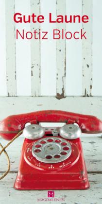 Gute Laune Notiz Block Telefon