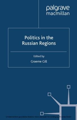 Politics in the Russian Regions
