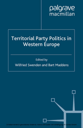 Territorial Party Politics in Western Europe