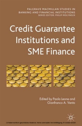 Credit Guarantee Institutions and SME Finance