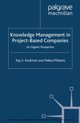 Knowledge Management in Project-Based Companies