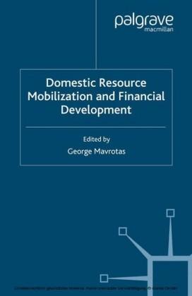 Domestic Resource Mobilization and Financial Development