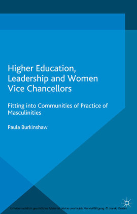 Higher Education, Leadership and Women Vice Chancellors
