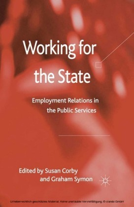 Working for the State