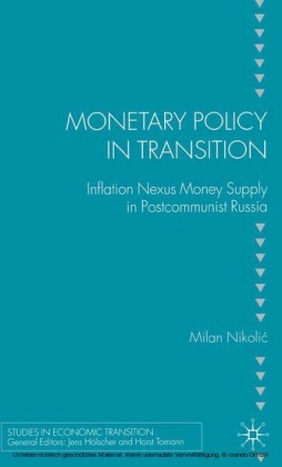 Monetary Policy in Transition