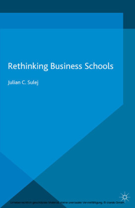 Rethinking Business Schools