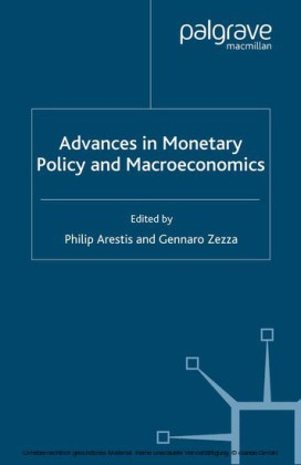 Advances in Monetary Policy and Macroeconomics