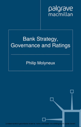Bank Strategy, Governance and Ratings