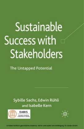 Sustainable Success with Stakeholders