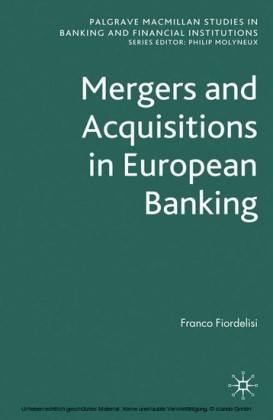 Mergers and Acquisitions in European Banking
