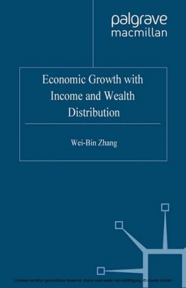 Economic Growth with Income and Wealth Distribution