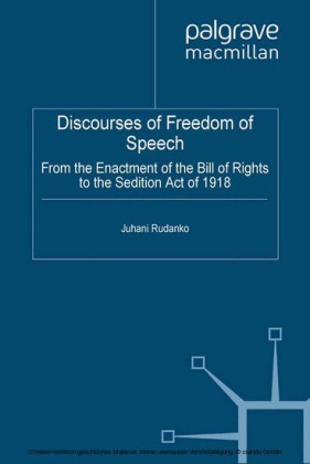 Discourses of Freedom of Speech