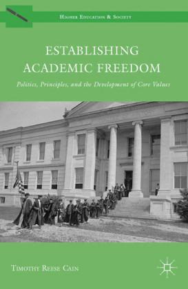Establishing Academic Freedom