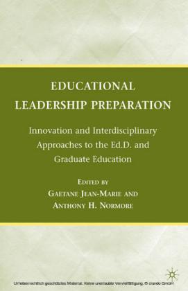 Educational Leadership Preparation