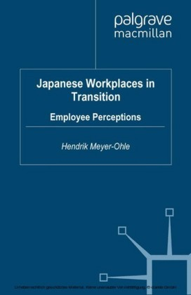 Japanese Workplaces in Transition