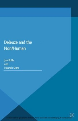 Deleuze and the Non/Human