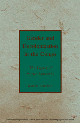 Gender and Decolonization in the Congo