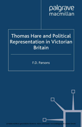 Thomas Hare and Political Representation in Victorian Britain