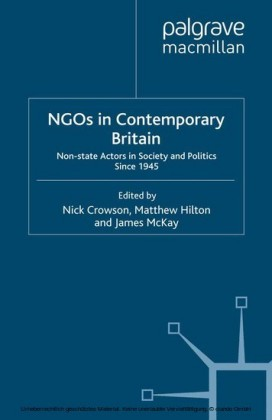 NGOs in Contemporary Britain