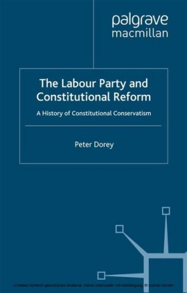 The Labour Party and Constitutional Reform