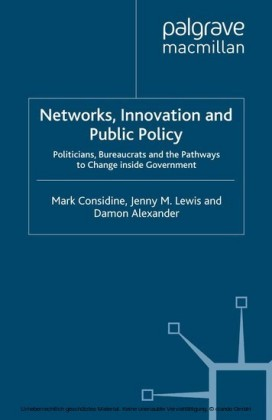 Networks, Innovation and Public Policy