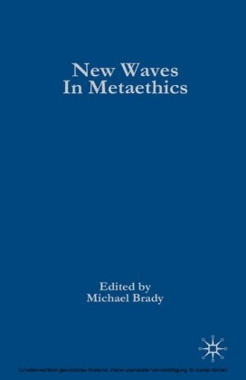 New Waves in Metaethics