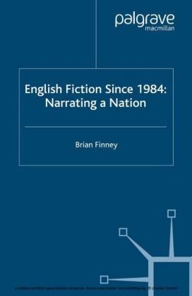 English Fiction Since 1984