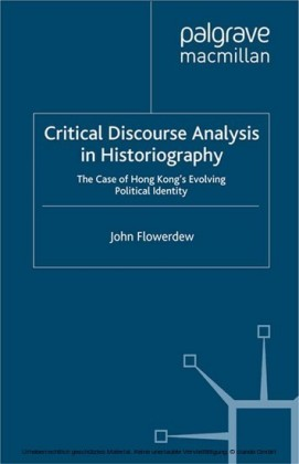 Critical Discourse Analysis in Historiography