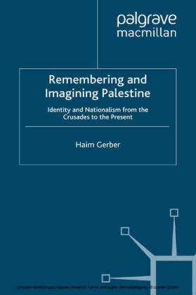 Remembering and Imagining Palestine
