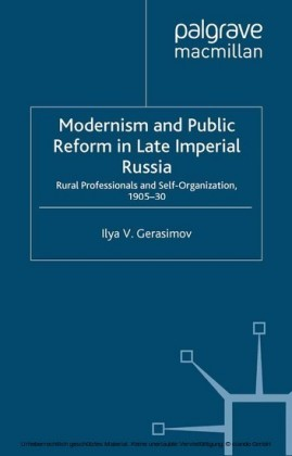 Modernism and Public Reform in Late Imperial Russia