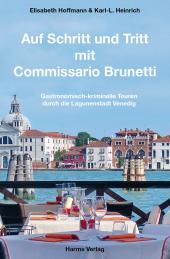 Auf Schritt und Tritt mit Commissario Brunetti, m. 1 Karte Cover