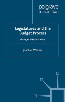 Legislatures and the Budget Process