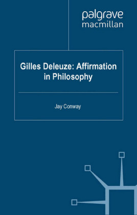 Gilles Deleuze: Affirmation in Philosophy