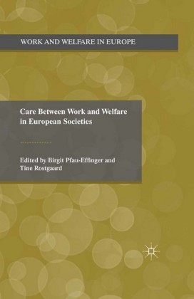 Care Between Work and Welfare in European Societies