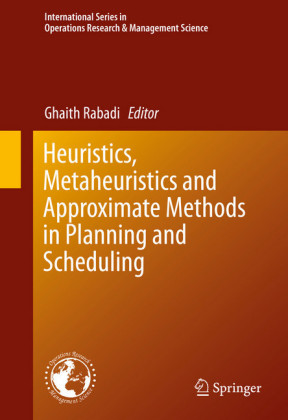 Heuristics, Metaheuristics and Approximate Methods in Planning and Scheduling