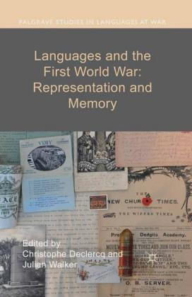 Languages and the First World War: Representation and Memory