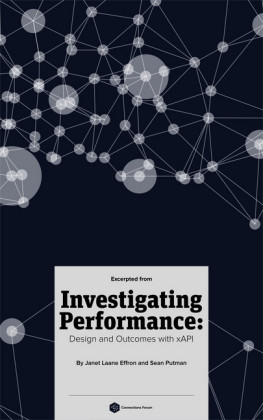 (Excerpts From) Investigating Performance