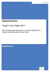 'Fagin's Last Night alive'