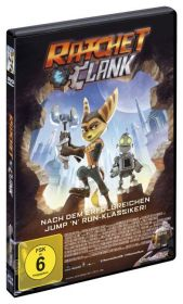 Ratchet & Clank, DVD Cover